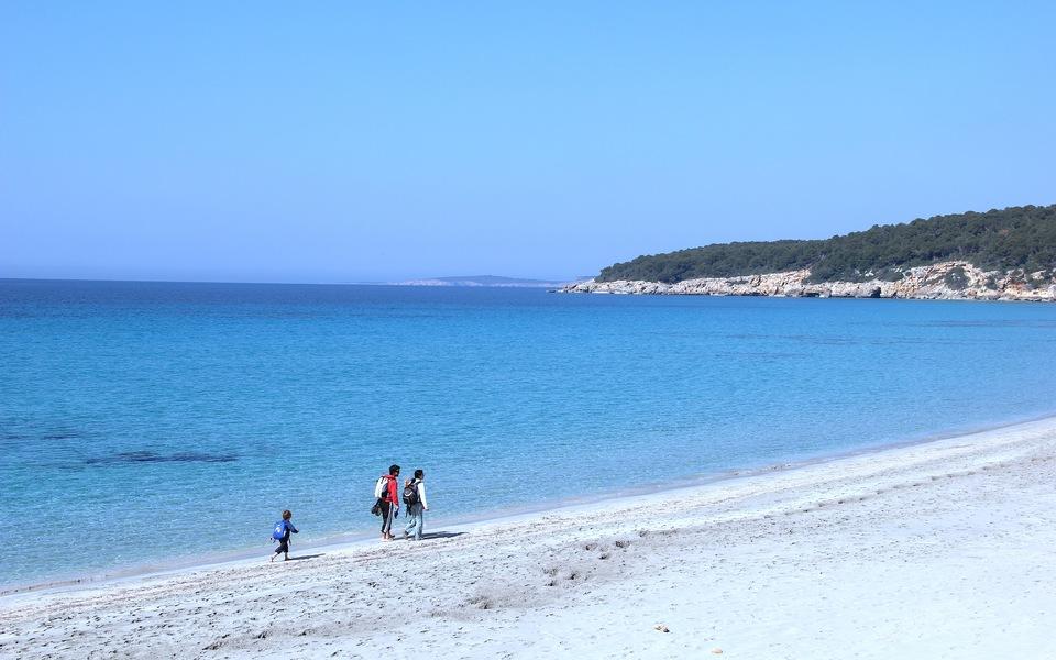 Binigaus and Santo Tomás Beaches in Es Migjorn Gran , Menorca |