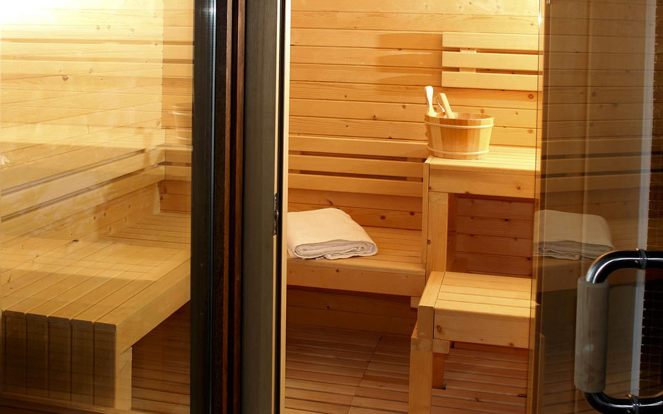 Sauna in the master bedroom
