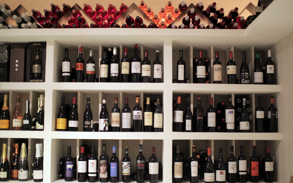 Extensive wine listings